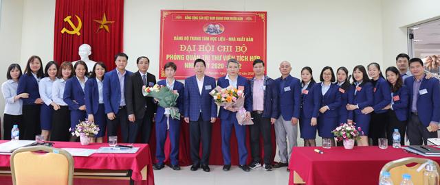 Chi bộ Phòng Quản trị thư viện tích hợp tổ chức Đại hội Đảng lần thứ I, nhiệm kỳ 2020 - 2022