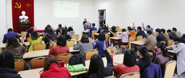 Hội nghị cán bộ, viên chức, người lao động Trung tâm Học liệu năm 2020